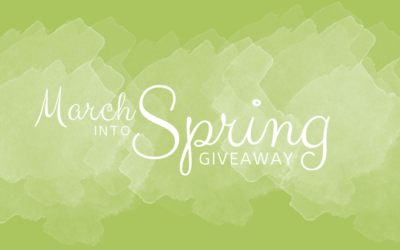 March Into Spring Giveaway