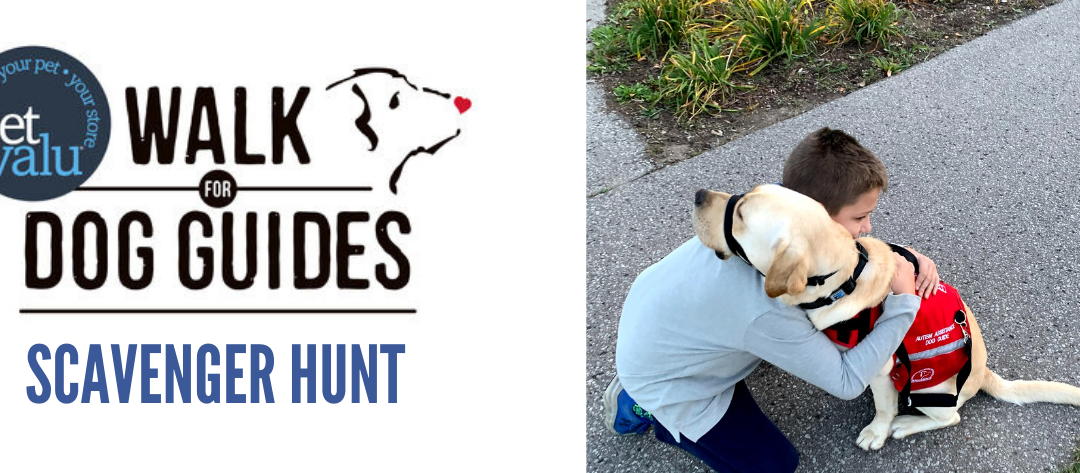 Port Perry Walk for Guide Dogs Scavenger Hunt